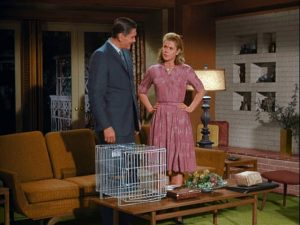 Darrin-and-Samantha-in-the-living-room-on-Bewitched