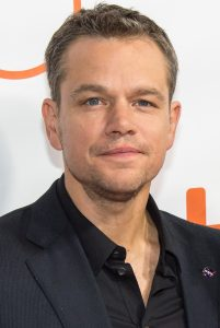 """Actor Matt Damon and his wife Luciana Bozán Barroso attend the world premiere for """"The Martian"""" on day two of the Toronto International Film Festival at the Roy Thomson Hall Friday, Sept. 11, 2015 in Toronto. NASA scientists and engineers served as technical consultants on the film. The movie portrays a realistic view of the climate and topography of Mars, based on NASA data, and some of the challenges NASA faces as we prepare for human exploration of the Red Planet in the 2030s. Photo Credit: (NASA/Bill Ingalls)"""