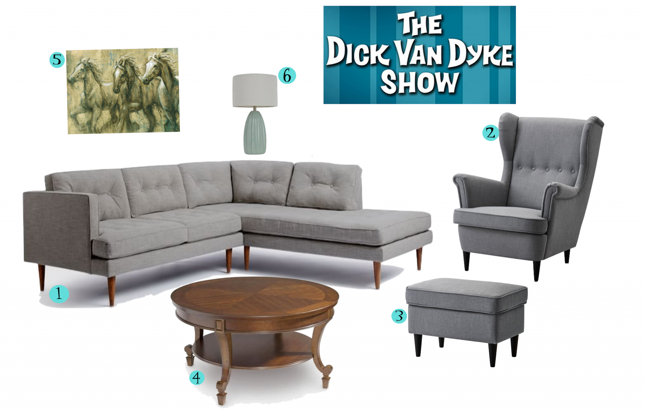 Dick Van Dyke Show Living Room