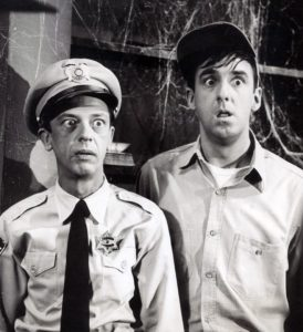 Don_Knotts_Jim_Nabors_Andy_Griffith_Show_Haunted_House_behind_scenes