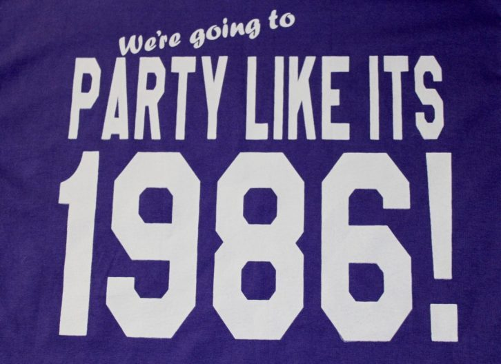 Party Like It's 1986!
