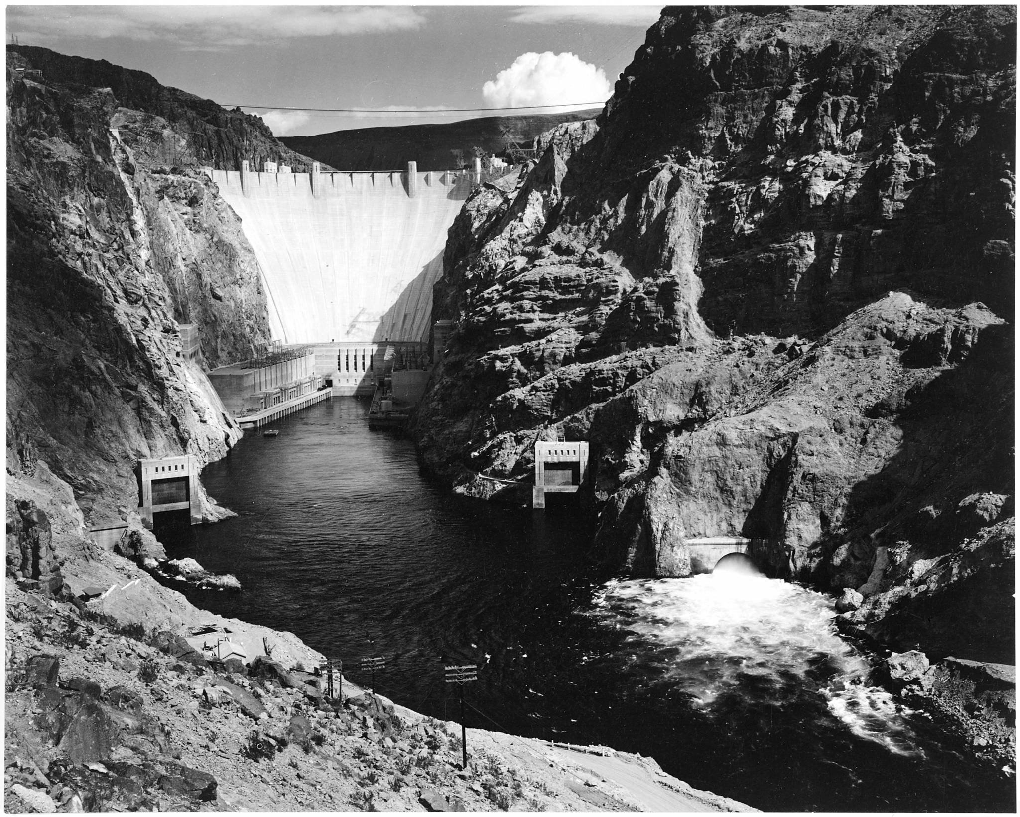 The Great Depression and a Dam Nation