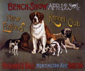 dog-show-vintage-poster